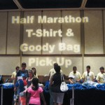 nicole checking in for the disney half marathon 3