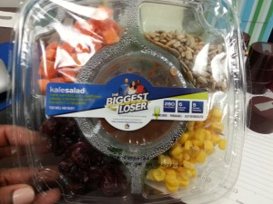 The Biggest Loser Kale Salad Packaged